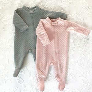 Old Navy | Quilted Footie Sleepers (6-9 mos)
